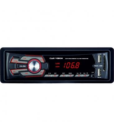 Radio MP3 Player auto Car Vision, RU-001, Putere 4x45W, USB, SD, Aux In, iesire RCA, Iluminare rosu