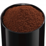 Rasnita de cafea Bosch TSM6A013B, Putere 180 W, Capacitate 75 g, Cutit otel inoxidabil, Negru