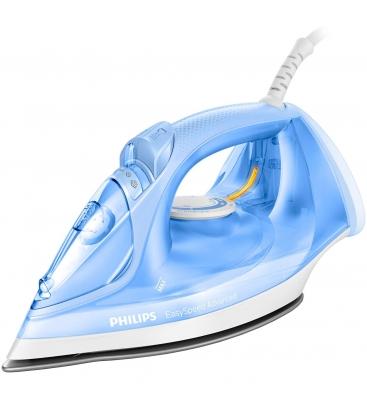 Fier de calcat Philips EasySpeed GC2676/20, Putere 2400W, 300 ml, 40 g/min, Jet 180 g/min, Antipicurare, Albastru
