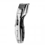 Aparat de tuns barba Remington MB350LC, Acumulator Litiu, 0,4-18 mm, Invelis Ceramic, Argintiu/Negru