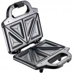 Sandwich-maker Tefal SM155233, Putere 700 W, Placi antiaderente, Argintiu/Negru