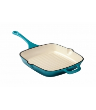 Grill Heinner din fonta emailata 27.5 x 27.5 x 4.5 cm