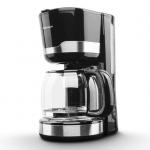 Cafetiera Rohnson R929, Putere 1000 W, Capacitate 1.5 l, Filtru lavabil, Negru