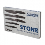 Set de cutite Cooking by Heinner Stone, 6 piese, Ceramica