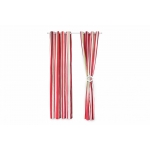 Set 2 draperii Heinner Dungi Rosii Bumbac 140 x 270 cm
