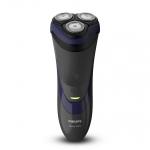 Aparat de ras Philips Shaver S3120/06, Autonomie 45 minute, Sistem ComfortCut, Negru