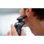 Aparat de ras Philips Shaver Series S5110/06, Autonomie 40 minute, Lame MultiPrecision, Super Lift & Cut, Negru