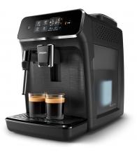 Espressor complet automat Philips EP2220/10, Putere 1500 W, Capacitate 1.8 l, Sistem spumare lapte, Touch control, Negru