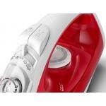 Fier de calcat Philips EasySpeed GC1742/40, Putere 2000 W, Capacitate 220ml, Debit 25 g/min, Jet 90g, Talpa antiaderenta, Rosu