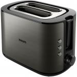 Prajitor de paine Philips HD2650/80, Putere 950 W, Dezghetare, Reincalzire, 8 setari de prajire, Negru