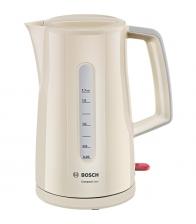 Fierbator Bosch TWK3A017, Putere 2400 W, Capacitate 1.7 l, Anticalcar, Bej