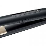Placa de indreptat parul Remington S1510, Temperatura maxima 220 C, Invelis Turmalin anodizat, Negru