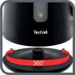 Fierbator Tefal Element KO200830, Putere 2400 W, Capacitate 1.7 l, Negru