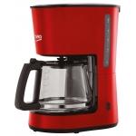 Cafetiera Beko CFM4350R, Putere 900 W, Capacitate 1.25 l, 10 cani, Keep Warm, Drip Stop, Rosu