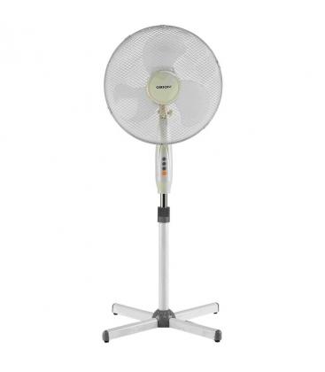 Ventilator cu picior Orion OFS-S160, Putere 45 W, 3 trepte de viteza, Functie oscilare, Alb
