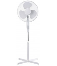 Ventilator cu picior Well Fan Stand Chilly WL, Putere 45 W, Diametru 40 cm, Inaltime reglabila, Alb