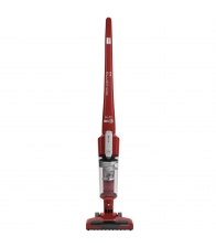 Aspirator vertical Rowenta Air Force Light RH6543, Putere 14.4V, Capacitate 0.65 l, Autonomie 30 min, Sistem ciclonic, Rosu