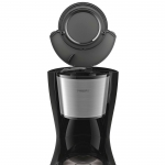 Cafetiera Philips Daily Collection HD7462/20, Putere 1000 W, Capacitate 1.2 l, Sistem Aroma twister, Negru