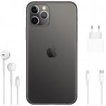 Telefon Apple iPhone 11, Procesor A13 Bionic, 4 GB RAM, 128 GB stocare, Negru