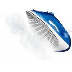 Fier de calcat Philips EasySpeed Plus GC2145/20, Putere 2100 W, Capacitate 0.27 l, Talpa Ceramica, Jet de abur 110 g, Albastru