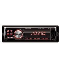 Radio auto Home VBT 1000/RD, Putere 4 X 45 W, Bluetooth, AUX, USB, SD, AUX, Microfon, Rosu