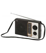 Radio portabil retro Home RPR 4B, 4 benzi de frecventa, Negru