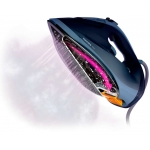 Fier de calcat Philips Azur GC4564/20, Putere 2600 W, Capacitate 300 ml, Decalcifiere, SteamGlide Advanced, Jet 240 g, Albastru