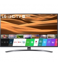 Televizor LG 49UM7400PLB, LED, Smart, 123 cm, Ultra HD 4K, Ecran IPS, Negru