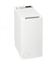 Masina de spalat rufe cu incarcare verticala Whirlpool TDLR 65210, Clasa A+++, Capacitate 6.5 Kg, 6th Sense, Alb