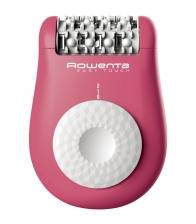 Epilator Rowenta Easy Touch EP1110F0, 24 pensete, 2 viteze, Roz
