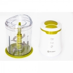 Minitocator Rohnson R516, Putere 650 W, Capacitate 1 l, Alb/Verde