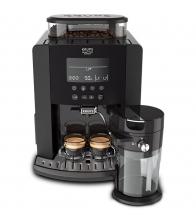 Espressor Automat Arabica Latte Ea819e10, Putere 1450 W, Capacitate 1.7 l, 260 g cafea, 15 bar, Antracit