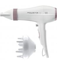 Uscator de par Rowenta Instant Dry Premium Care CV6065F0, Putere 2200 W, Functie Ionica, Concentrator, Difuzor pentru volum, Alb