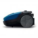 Aspirator cu sac Philips PowerGo FC8245/09, Putere 750 W, Capacitate 3 l, Filtru Antialergic, Albastru