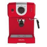 Espressor manual KRUPS Pump XP320530, Putere 1025 W, Capacitate 1.5 l, 15 bar, Dispozitiv spumare, Rosu