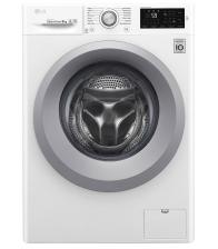 Masina de spalat rufe LG F4J5VN4W, Clasa A+++, Capacitate 9 Kg, 6 motion, Direct Driver, NFC Smart ThinQ, Alb
