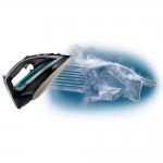 Fier de calcat Tefal Turbo Pro FV5640E0, Putere 2600W, Capacitate 0.3 l, 210 gr/min, Talpa Autoclean Airglide, Negru