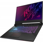 Laptop Asus ROG Strix G G531GT-BQ091, Intel® Core™ i5-9300H, 256GB SSD, 8GB DDR4, GeForce GTX 1650 4GB, Negru