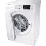 Masina de spalat rufe Samsung WW80J5345MW/LE, Clasa A+++, Capacitate 8 Kg, 1200 rpm, EcoBubble, Smart Check, Alb