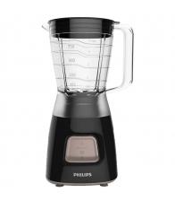 Blender PHILIPS Daily Collection HR2052/90, Putere 450 W, Capacitate 1.25 l, 1 viteza, Pulse, Negru