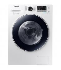 Masina de spalat rufe cu uscator Samsung WD80M4A43JW/LE, Clasa A, Capacitate 8/4.5 Kg, Motor Digital Inverter, EcoBubble, Alb