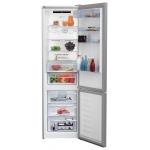 Combina frigorifica Beko RCNA406E40XB, Clasa A+++, Capacitate 362 l, NeoFrost, Compartiment 0°C, Argintiu