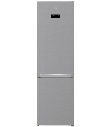 Combina frigorifica BEKO RCNA406E30ZXB, Clasa A++, Capacitate 362, NeoFrost Dual Cooling, Touch control, Argintiu