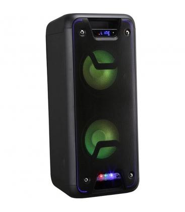 Boxa portabila Vortex VO2602, Putere 60 W, Microfon wireless, Bluetooth, USB, FM, Negru
