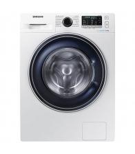 Masina de spalat rufe Samsung WW80J5345FW/LE, Clasa A+++, Capacitate 8 Kg, Eco Bubble, Tambur Diamond, Alb