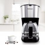 Cafetiera Rohnson R991, Putere 750 W, Capacitate 1.25 l, 10 cesti, Antipicurare, Mentinere cald, Negru