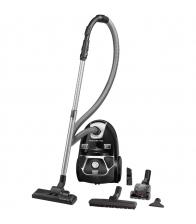 Aspirator cu sac Rowenta Compact Power Animal Care RO3985EA, Putere 750 W, Capacitate 3 l, Sac Hygiene+, Negru