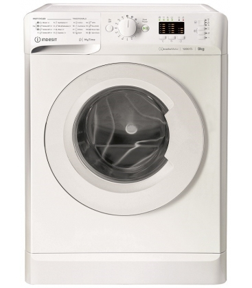 Masina de spalat rufe Indesit MTWA 91283 W EE, Clasa A+++, Capacitate 9 Kg, 1200 rpm, Alb