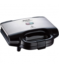 Sandwich-maker Tefal Ultracompact SM157236, Putere 700 W, Invelis antiaderent, Negru