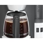 Cafetiera Bosch TKA6A041, Putere 1200 W, Capacitate 1.25 l, 10 cesti, Antipicurare, Decalcifiere, Oprire automata, Alb